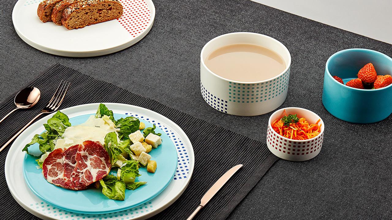 织彩餐具组 | Weave Tableware