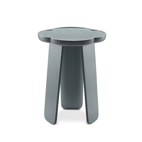 造作花间实木小桌®高桌(两叶款)桌几效果图