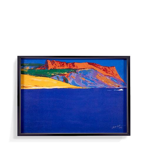 罗尔纯系列版画-地中海的宁静装饰