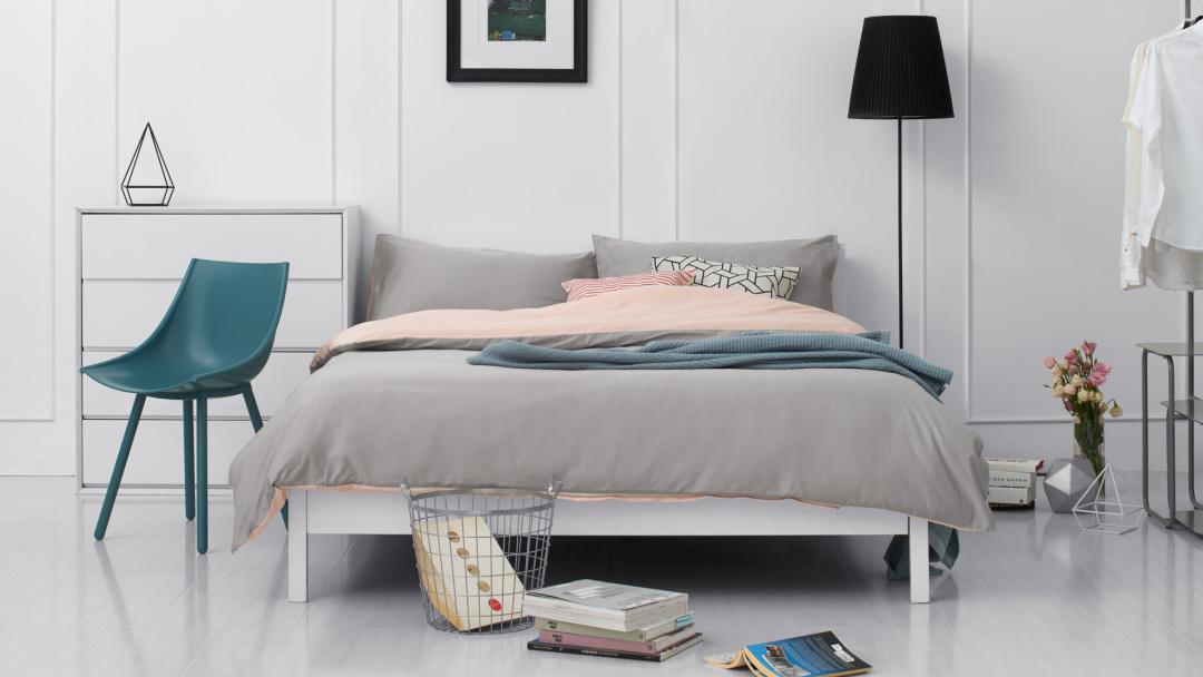 低饱和卧室的清爽不燥