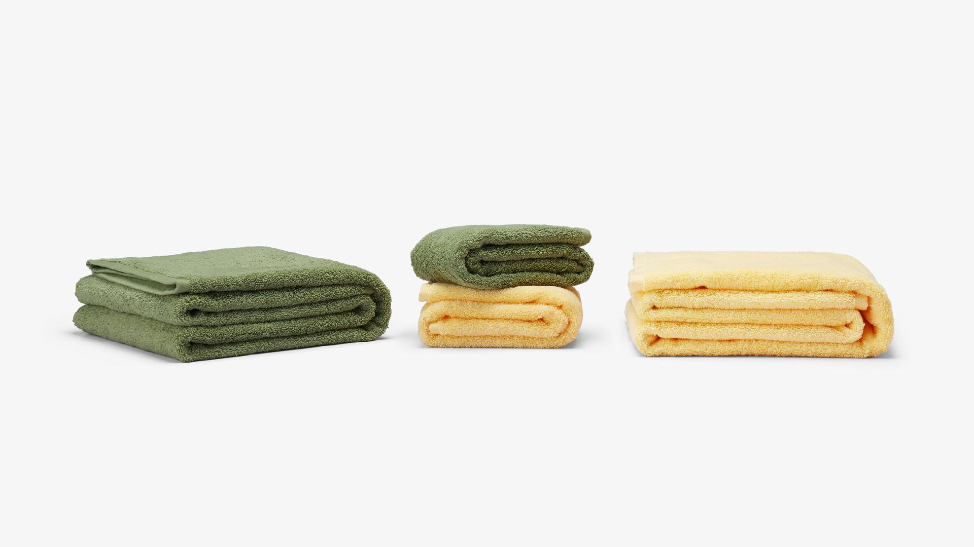 一套全棉基本款毛巾,如早安一般每日陪伴