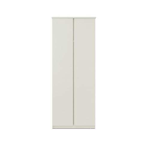 美术馆衣柜两门无顶柜柜架效果图