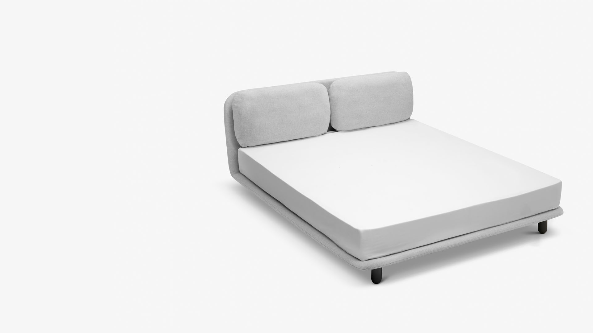 矮腿+无边床围设计<br/>更低重心,更多安全感