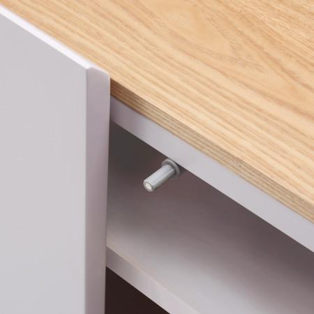 柜门顶部的反弹铰链装置,触碰式开关的精准控制器