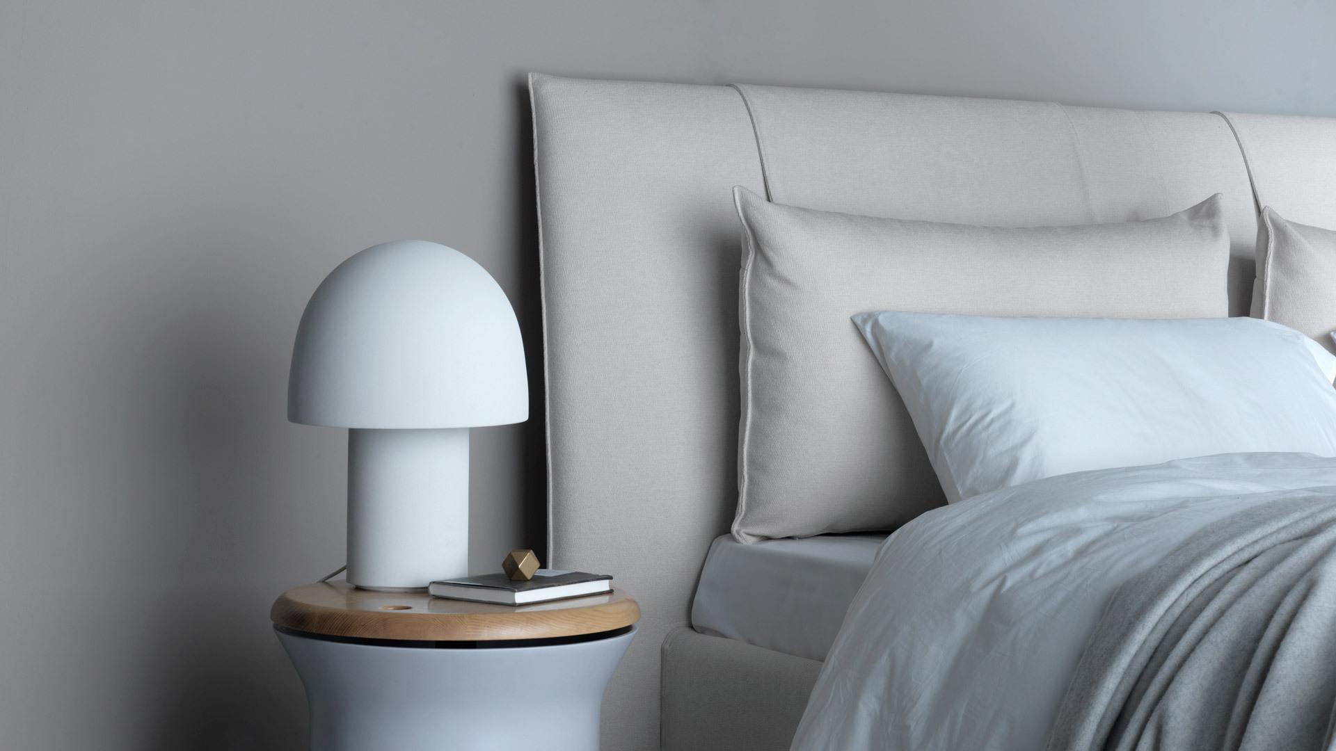 大号台灯,开阔卧室的优美床头灯