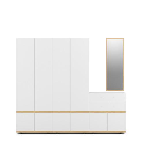 COSMO 4门衣柜-2.2米高