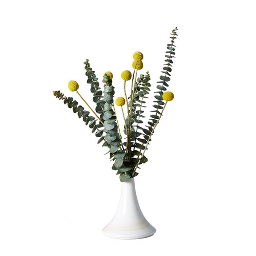造作山晓釉下彩花瓶™装饰