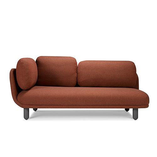 云团沙发升级版双人座左扶手沙发效果图