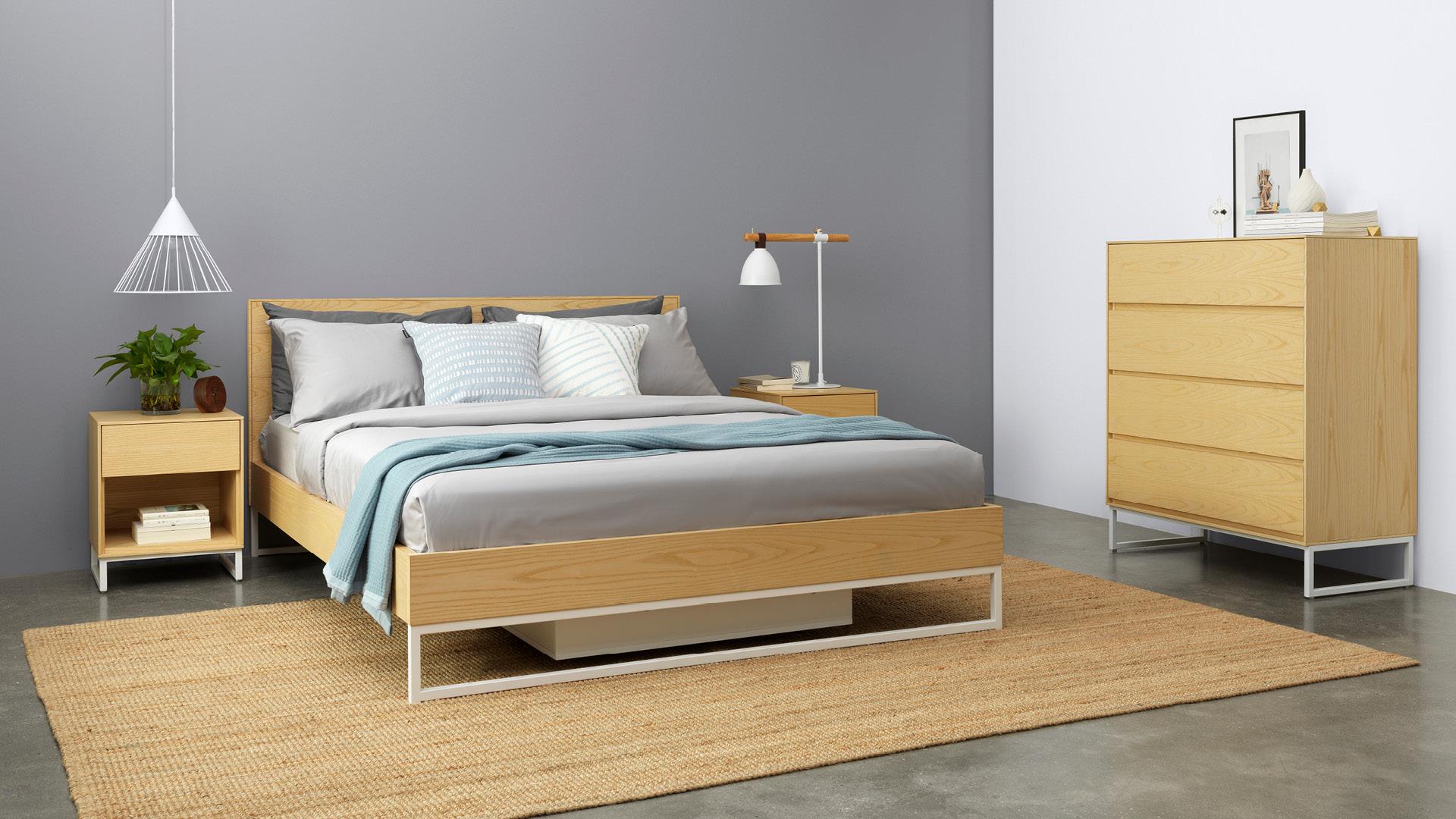 木色卧室,温暖安睡