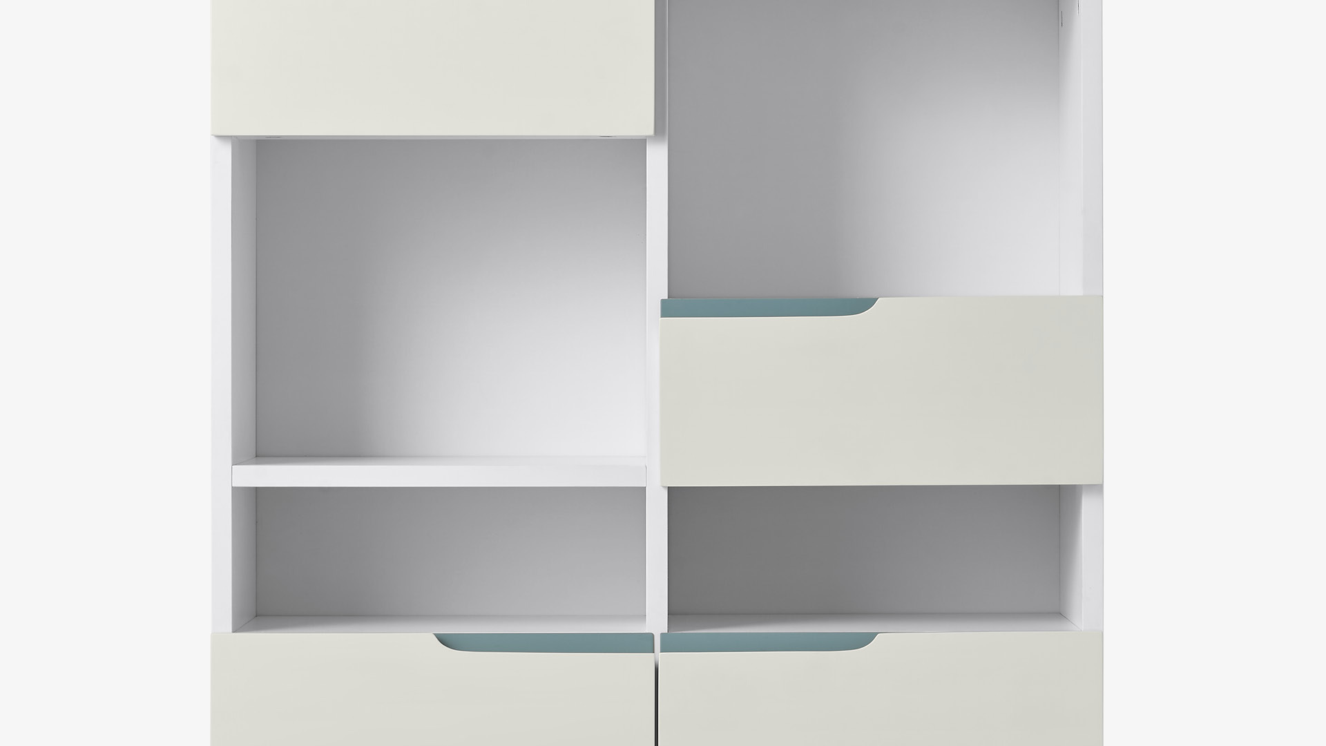 可调节层板,适应不同尺寸储物需求
