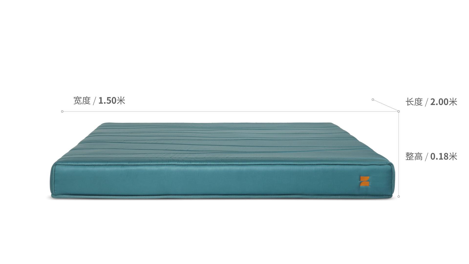造作豌豆公主真丝床垫™1.5米款床·床具效果图
