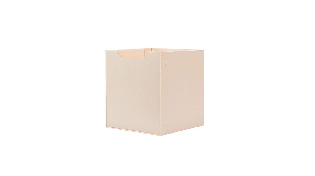 魔方磁力收纳系组合(米杏抽屉A+米白外盒1)柜架