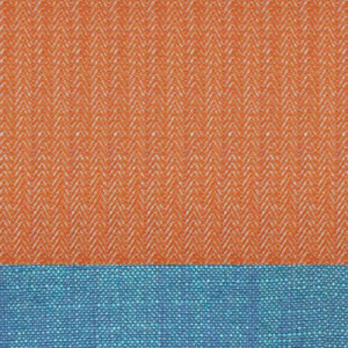 前橙-后蓝
