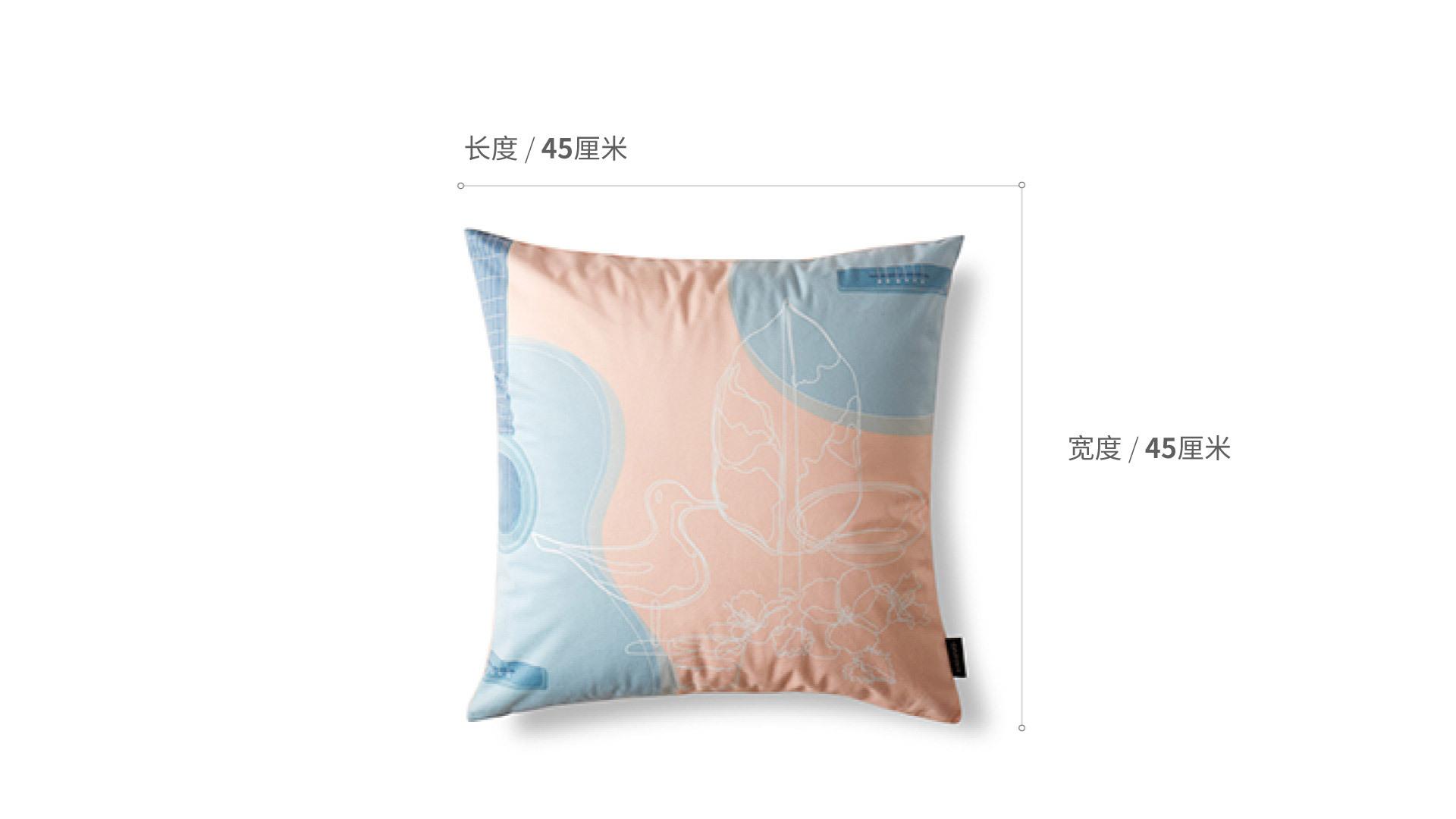 JZ×ZZ 纪念抱枕JZ×ZZ 纪念抱枕家纺效果图