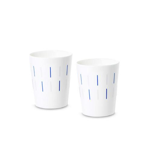 镜线西班牙瓷土餐具组杯子套装餐具效果图