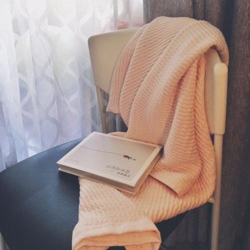 无边落木_棉花糖立体色织纱布毛巾被单人毯怎么样_2