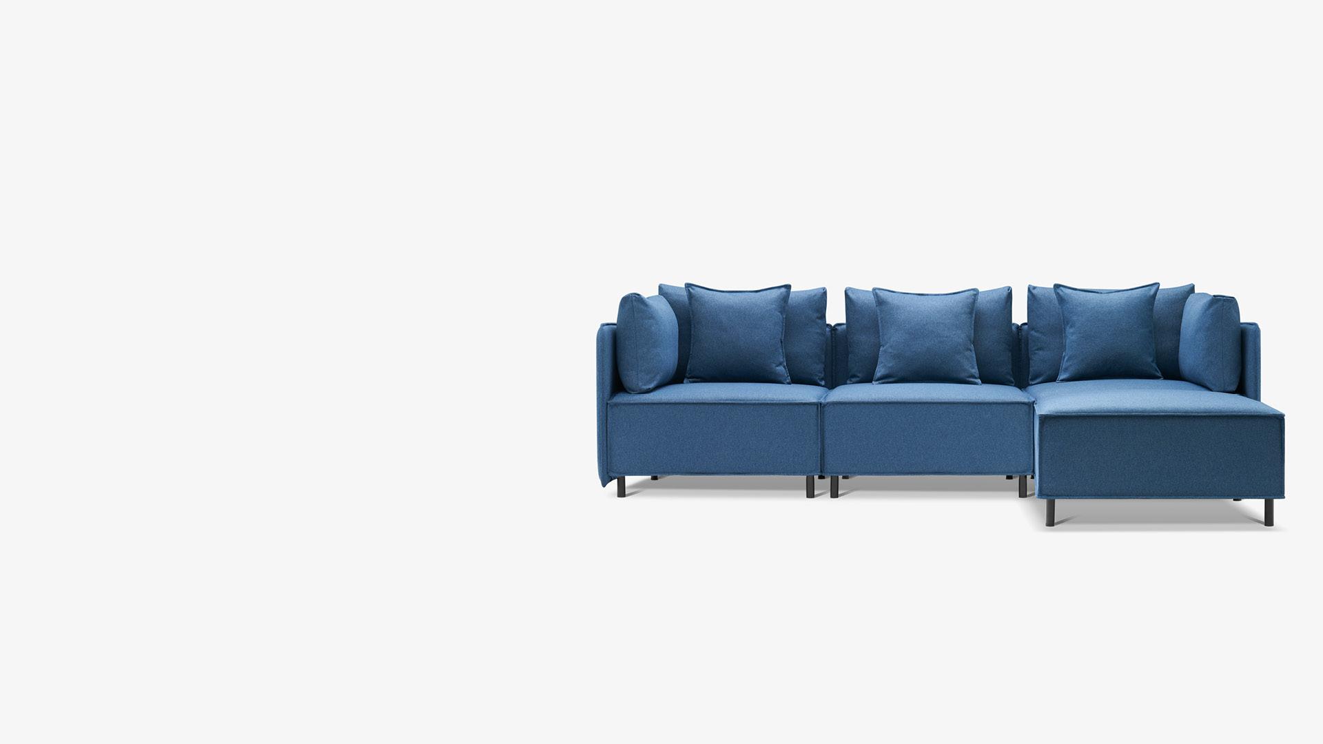 大尺寸+超舒适坐感<br/>适应15㎡~30㎡各型客厅