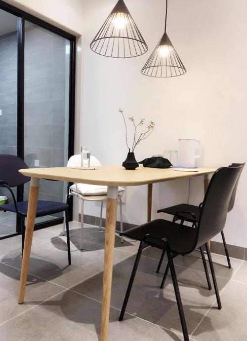 IF对画板餐桌-长桌发布的晒单效果图及评价
