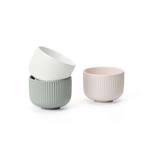 折简浸釉餐具组®-盘碗碗套装餐具效果图