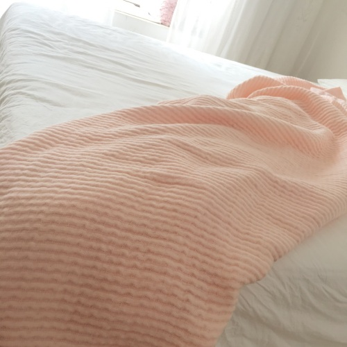 造作棉花糖立体色织纱布毛巾被精选评价_188****9127