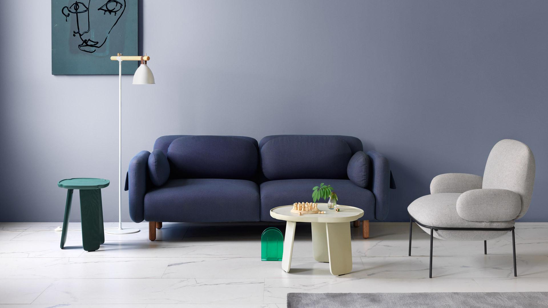 清淺高低桌,活潑空間的雅致裝點