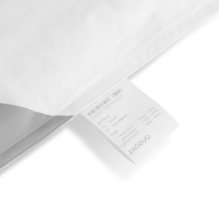 8mm双排白色棉线精准包边,每3cm按12~13针细密平缝,美观牢固