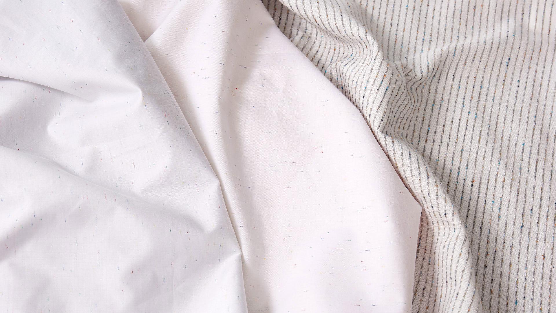 60纱支数,高密缎纹更细腻耐用