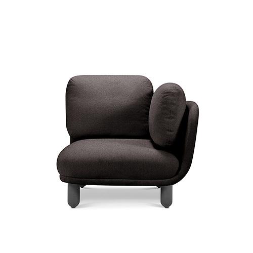 云团沙发升级版®单人座右扶手沙发效果图