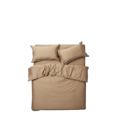 造作锦瑟纯色高支4件套床品™-1.8米