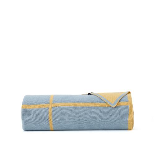小Z精梳棉手工提花毯-单人毯