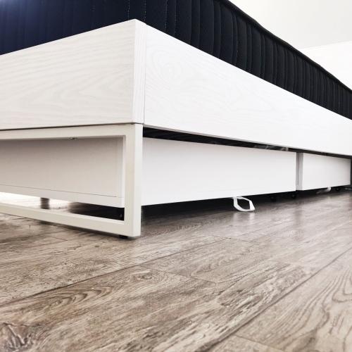 西小童_画板床1.8米款云白色怎么样_2
