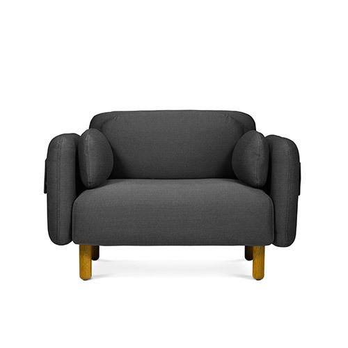 鹅卵石沙发单人座沙发效果图
