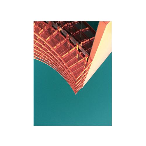 旅行家限量画芯 | Aryton Page作品1号-夏威夷1(装裱后)装饰效果图