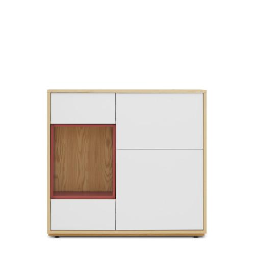 青山餐边柜-大柜体+大空盒