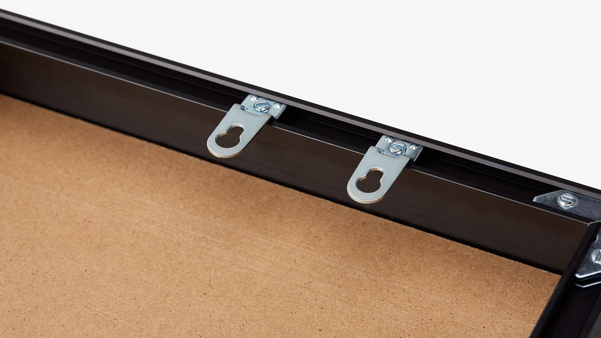 2个墙面悬挂件,长短边自由安装