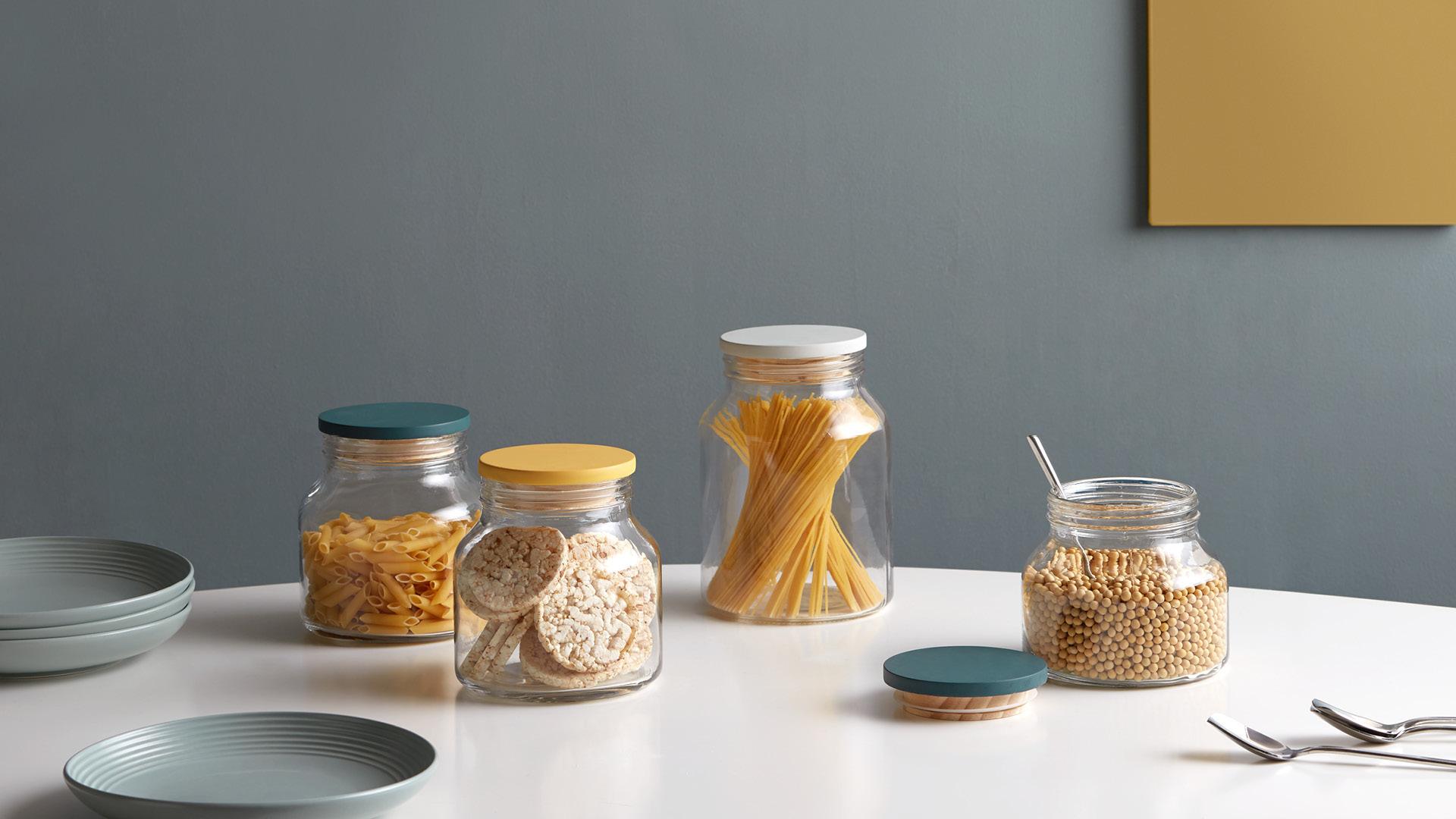 呈现食物原色,透明储物新风尚