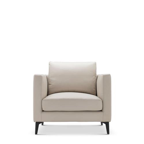 星期天沙发升级皮革版™-单人座