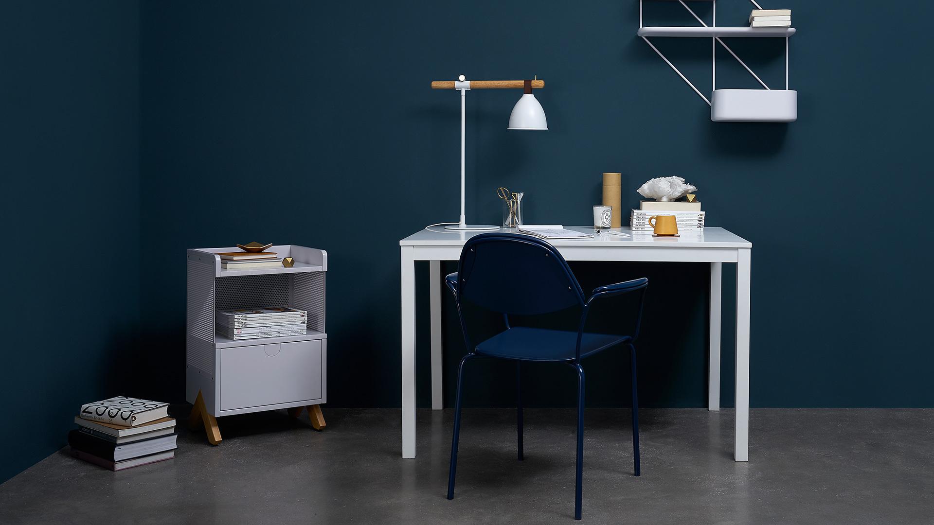 写字桌边柜,高效利用小角落