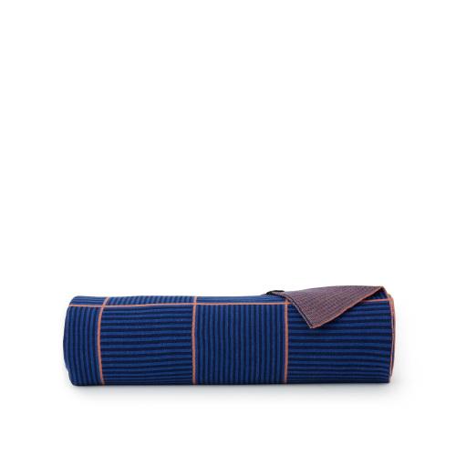 阡陌精梳棉手工提花毯-单人毯