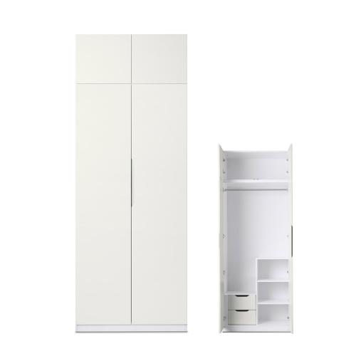 贡多拉两门衣柜-顶柜A款