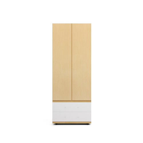 COSMO星格™衣柜·斗柜2.1米高2门衣柜C柜架效果图