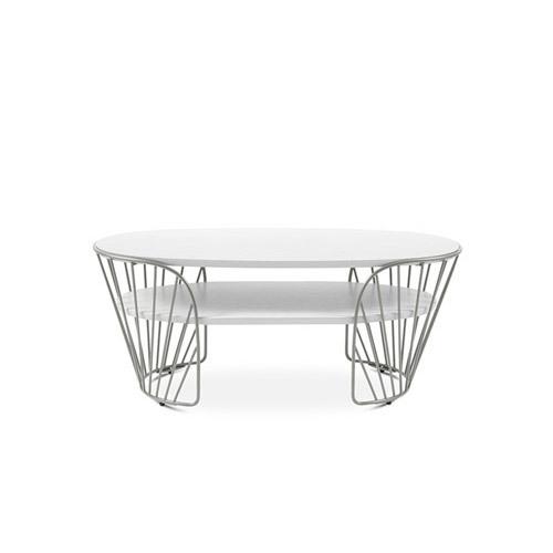 造作蝴蝶边桌™双层桌几效果图