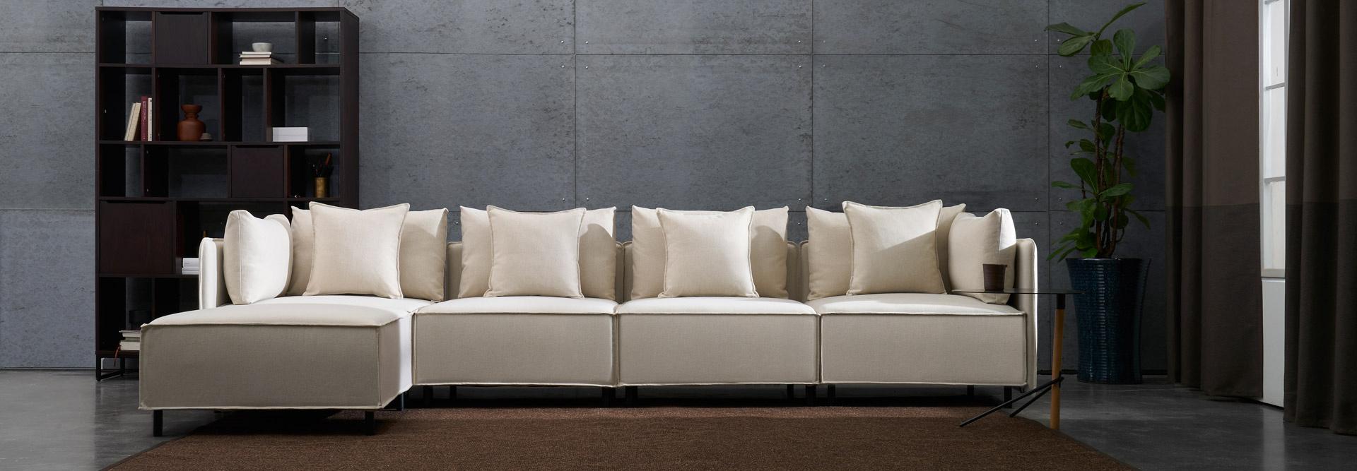 一张全尺寸可拆洗的舒适沙发,大有其道