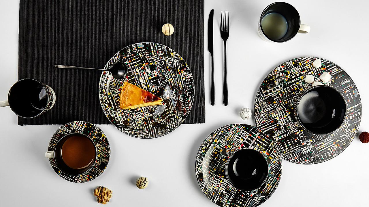 餐具也是精致艺术品,让食之美学,成为你生活态度的表达。
