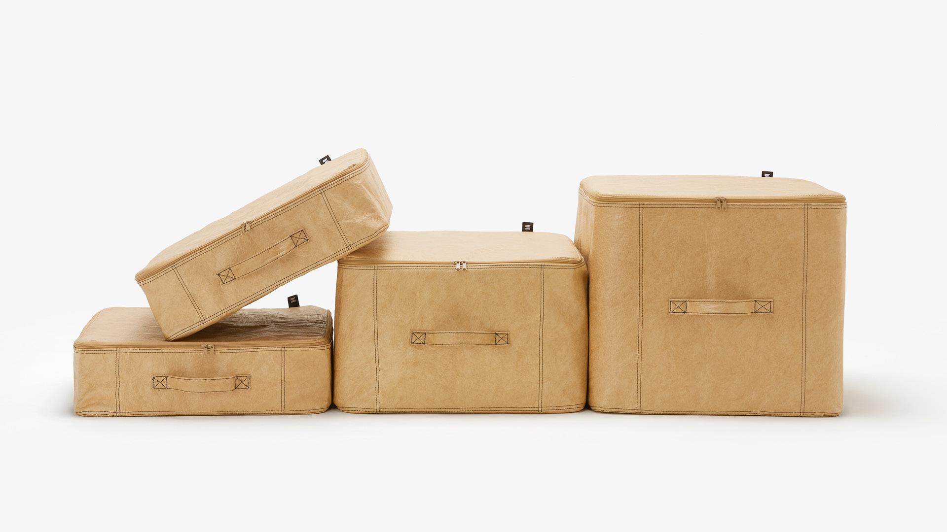 全家零碎小物<br/>从轻巧可叠,灵活移动的软箱开始