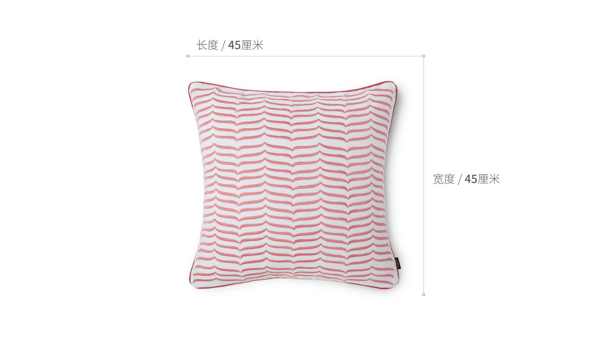 细语苎麻刺绣抱枕-春分细语苎麻刺绣抱枕 | 春分家纺效果图