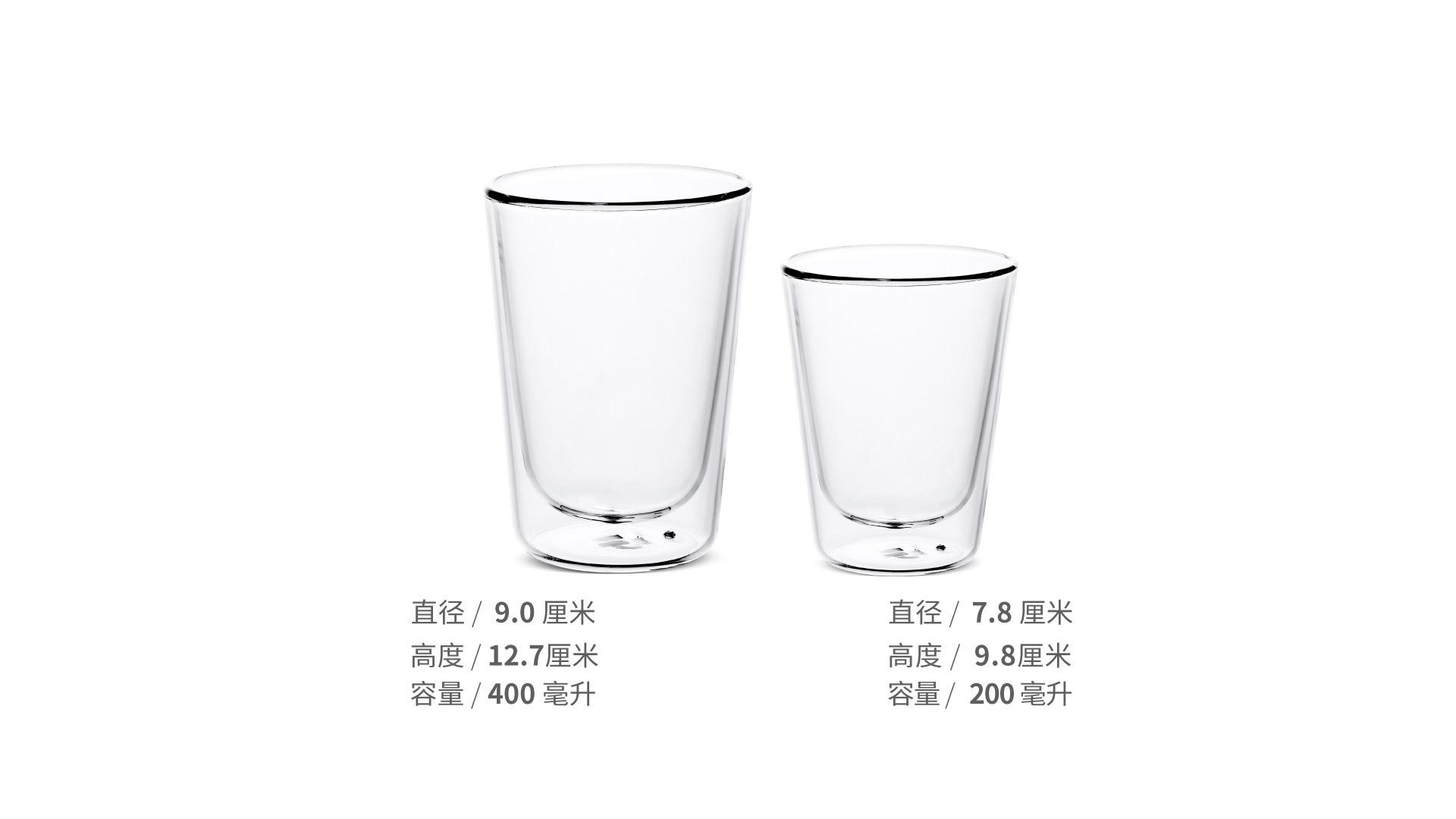 花漾高硼硅美饮杯餐具效果图