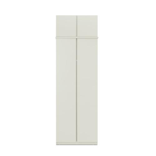 美术馆衣柜-两门有顶柜