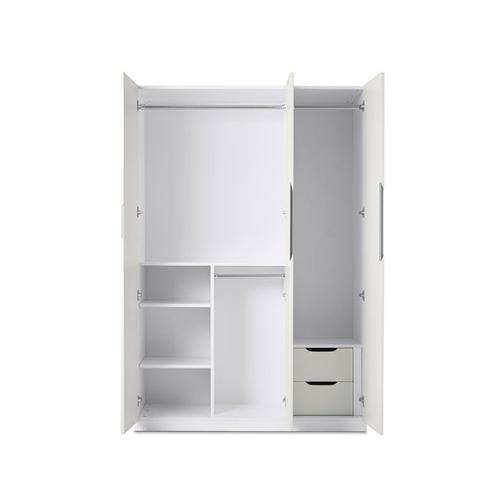 贡多拉三门衣柜B款柜架效果图