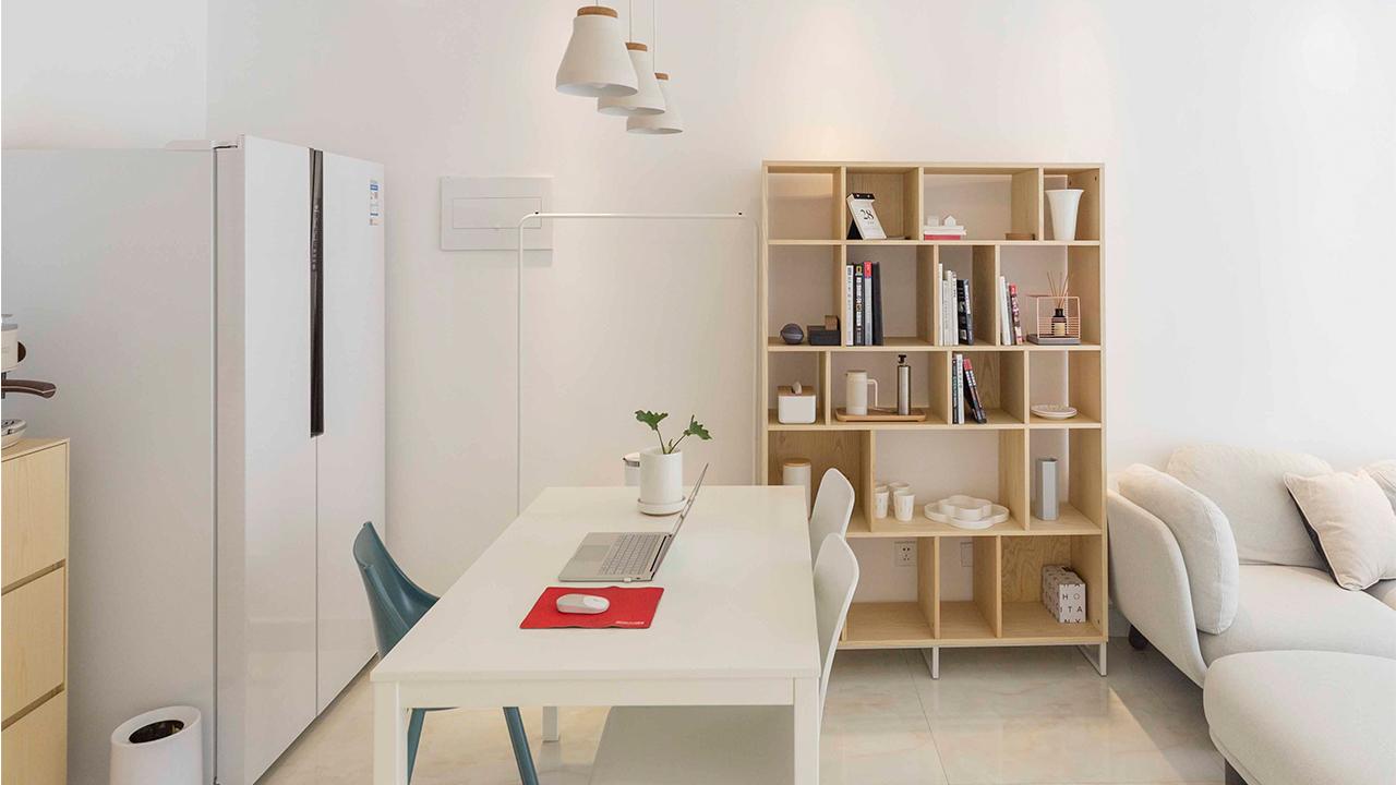 生活家Vol.16 | 用白色+原木色,打造如空白笔记本的家